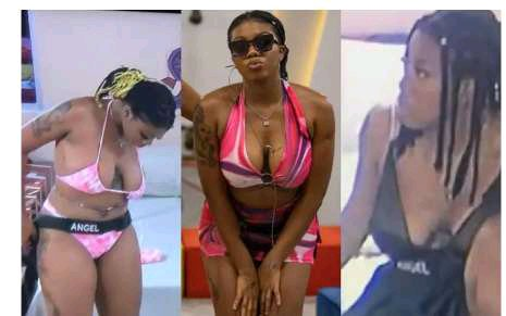 BBNaija2021: Recap of Bad Things Angel Did In Big Brother's House That Got Tongue Wraggling