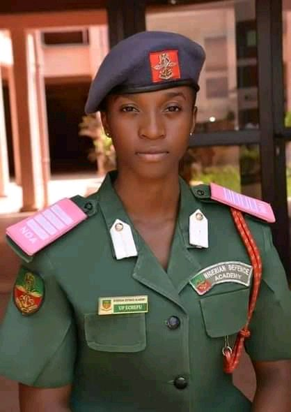 Meet Best Graduating Cadet of Nigerian Defence Academy – Uchechi Promise and Her Multiple Awards
