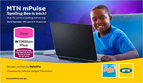 Win Up to 7 Million in MTN mPulse Spelling Bee Competition, See How to Apply